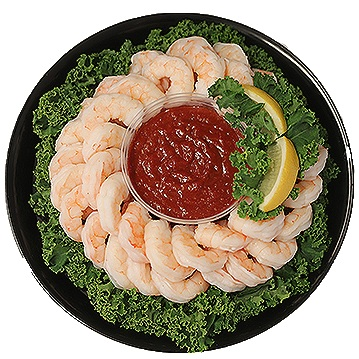 Shrimp Holiday Platter