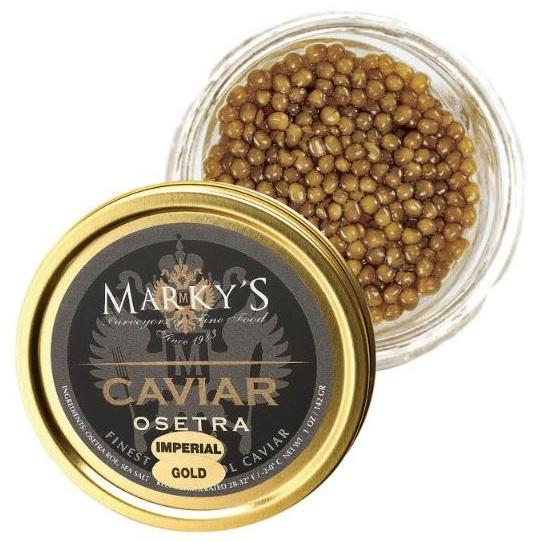 Marky's Osetra Caviar Imperial Gold 1 oz