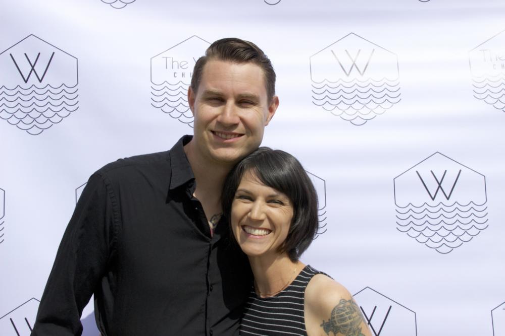 Seth Haak - Elder Seth Haak & wife Mandy.