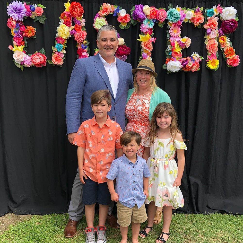 Pastor Charlie Garrison - Lead Pastor Charlie Garrison & Family.