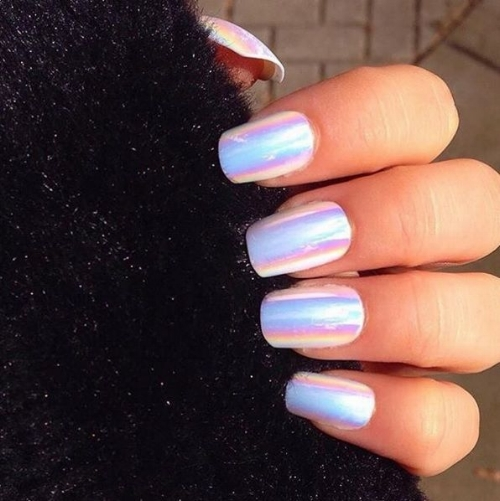 Fashion week Trends manicure summer for woman