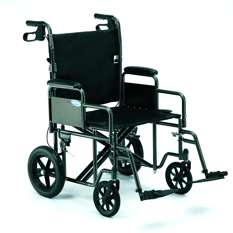 "PB9500BK 22""Wx17 5""D Invacare Heavy Duty Transport Chair — South"