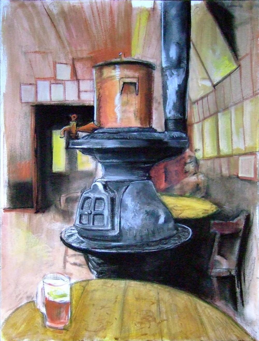 McSorley's stove