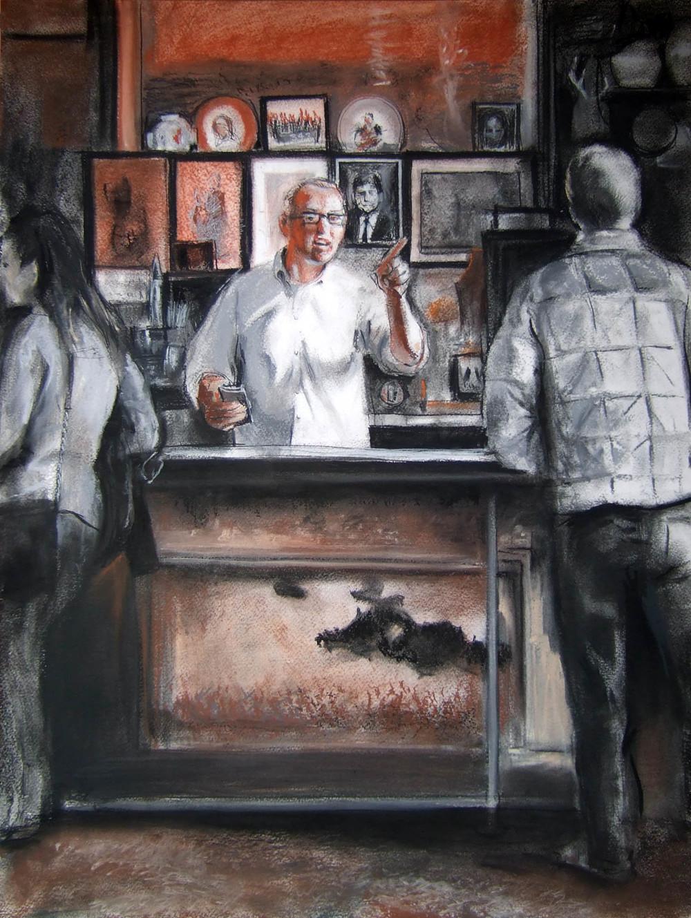 Bartender at McSorley's