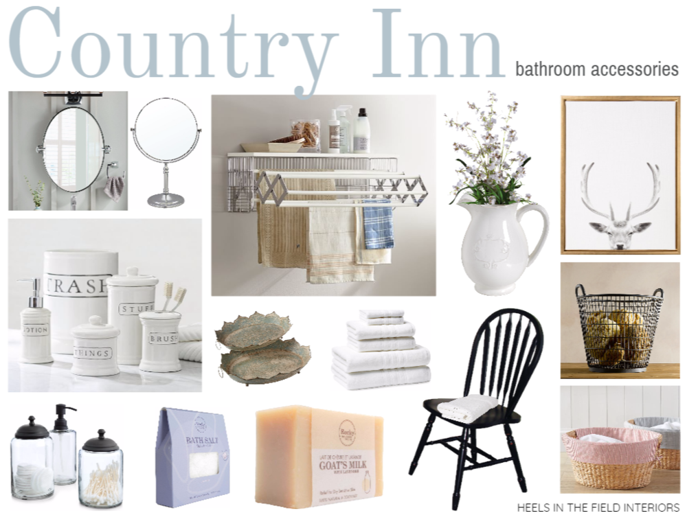 Decorating a country inn