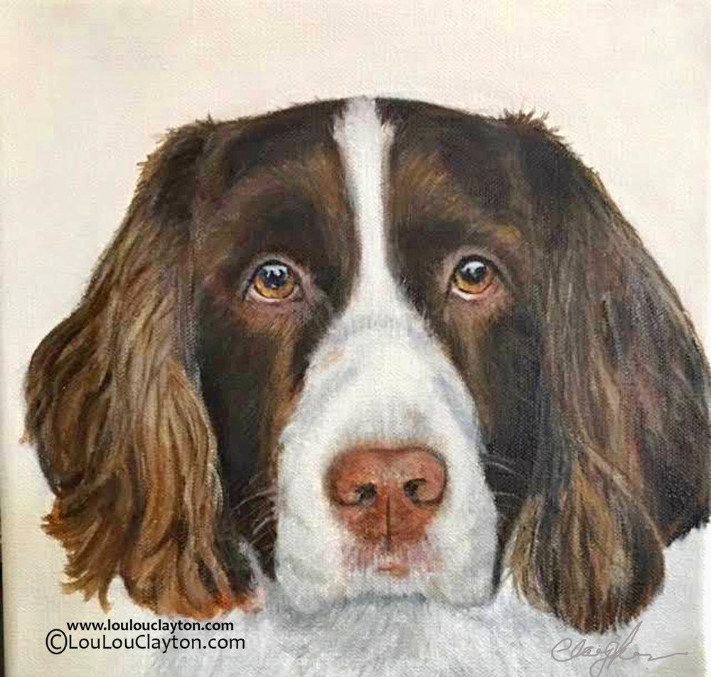 LouLou Clayton Custom Dog Portraits