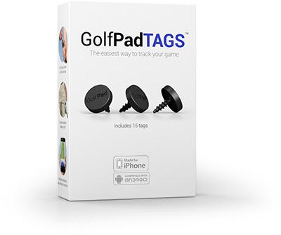 Golf Pad TAGS