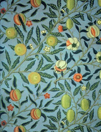 'Fruit' by William Morris, 1866