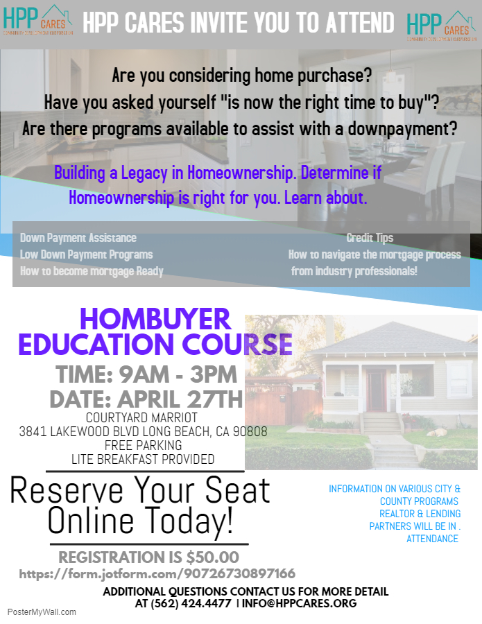 HPP CARES HOME BUYER EDUCATION COURSE APRIL 27 2019 9am to 3pm 3841 LAKEWOOD BLVD LONG BEACH CA 90807o.jpg