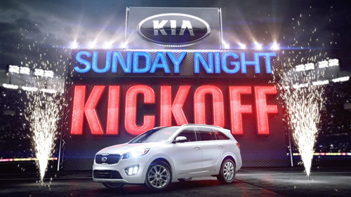 Sunday Night Football KIA