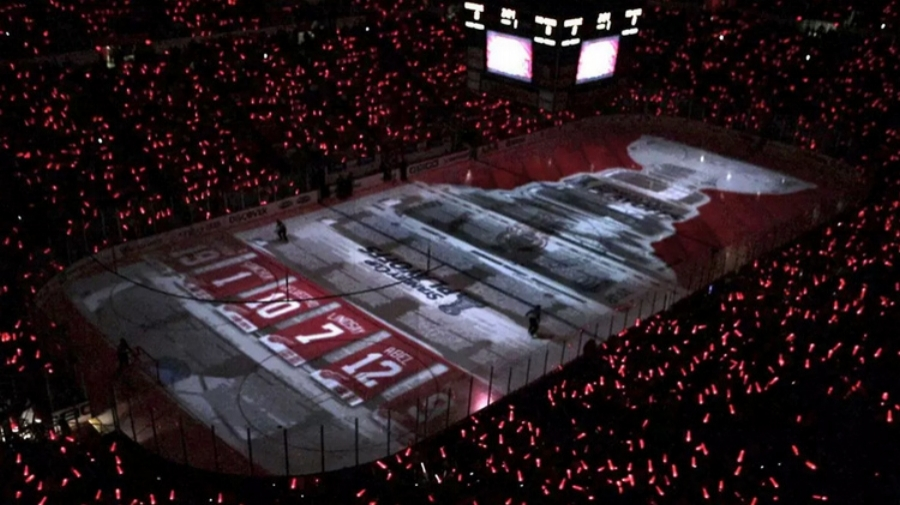 Playoff Ice Projection        DETROIT RED WINGS