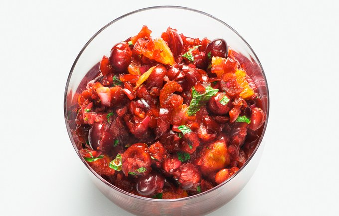 Cranberry-Orange-Mint Relish