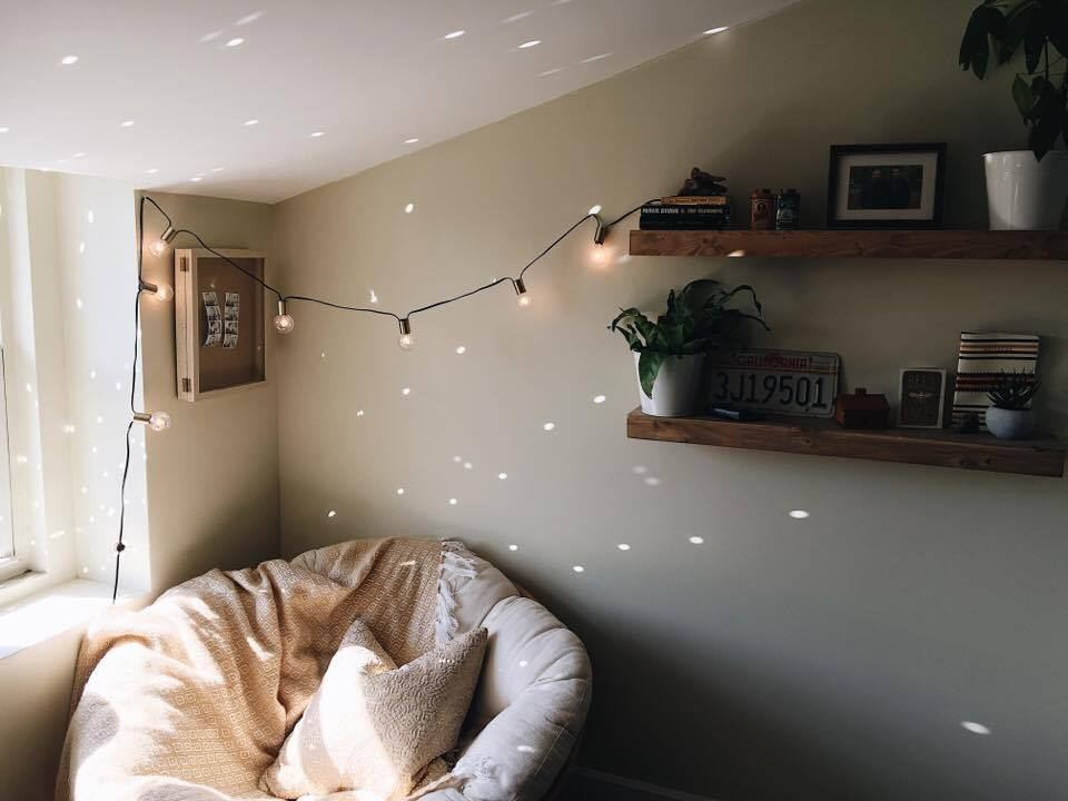 discovered the magic of a disco ball in the sun, thanks to some of my favorite home designers on instagram