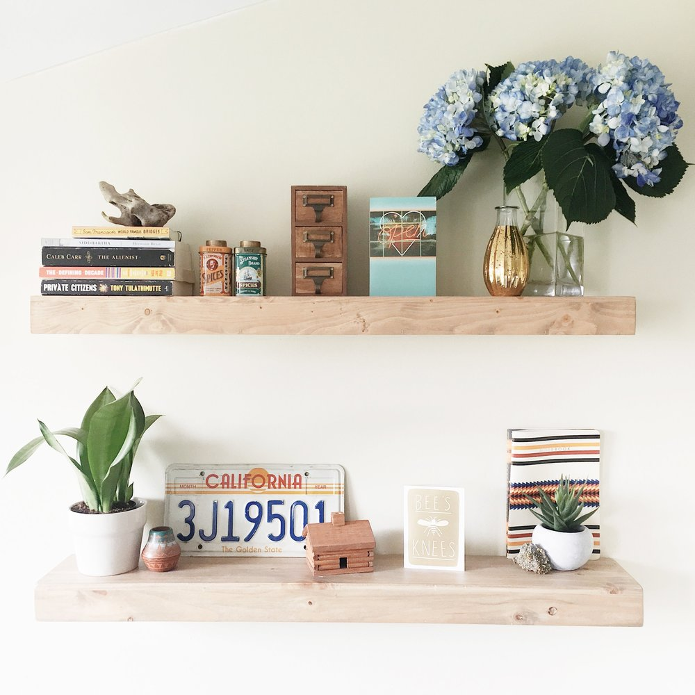 floating shelves: target