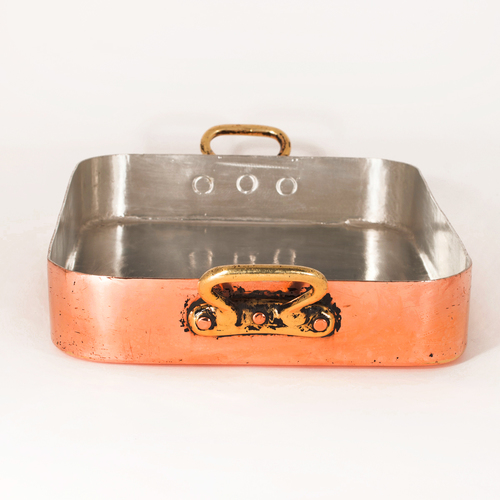 French Roasting Pan 4 20 Antique Copper