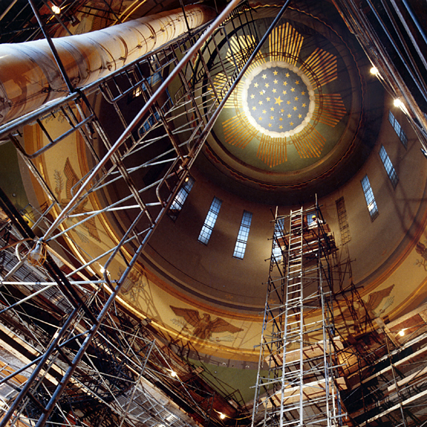 Oregon State Capitol Dome Restoration