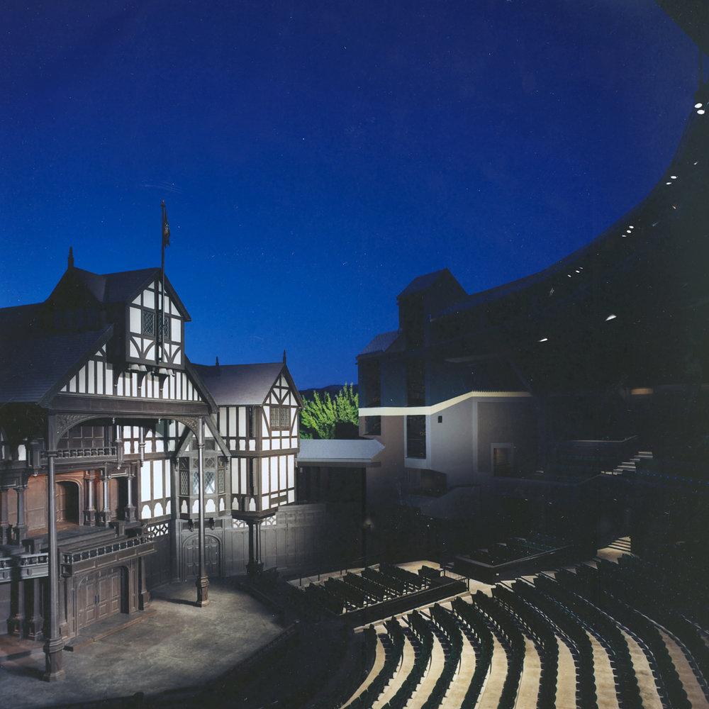 Oregon Shakespeare Festival Allen Pavilion