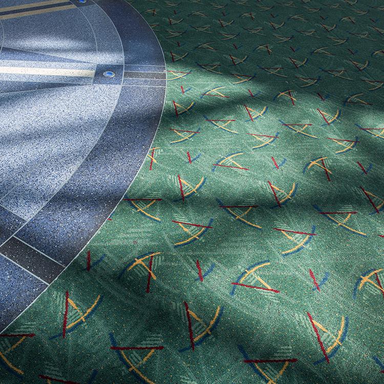 Portland International Airport Carpet