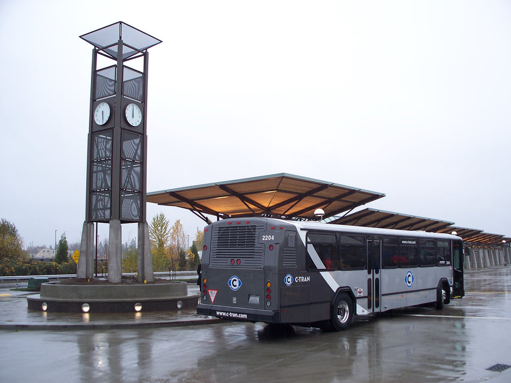 C-TRAN with New Bus.jpg