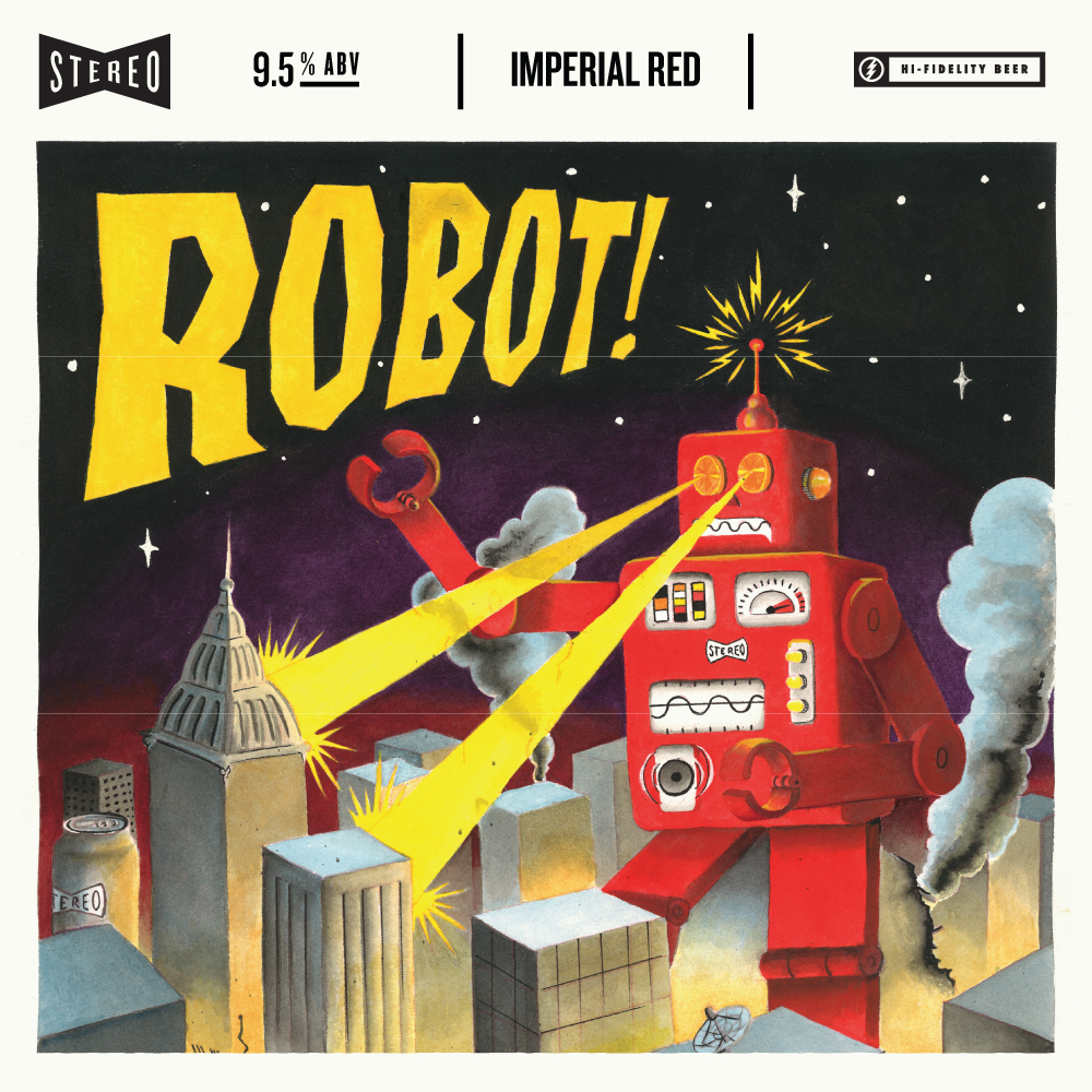 Stereo Robot Imperial Red Ale