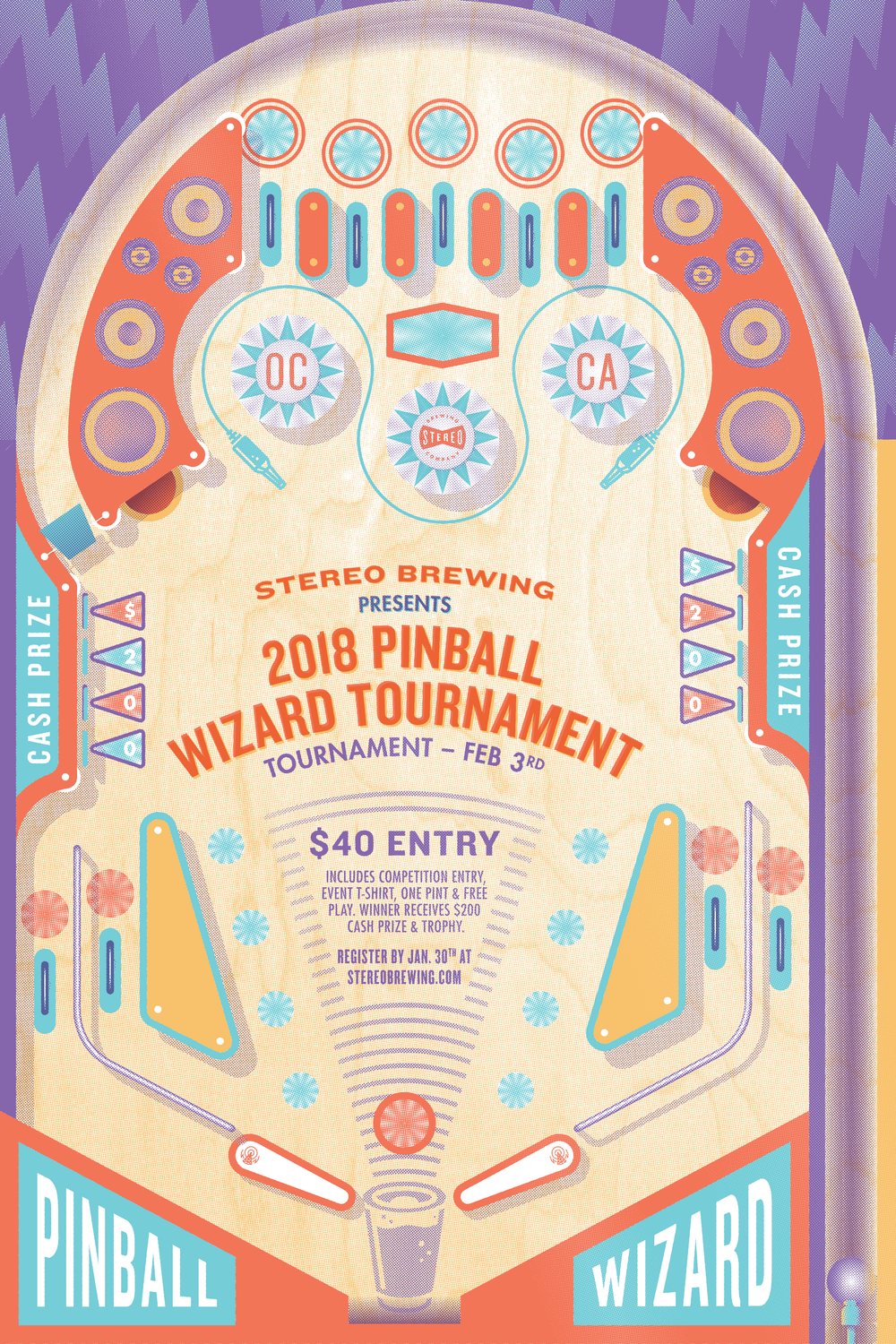2018 Pinball Wizard Tournament - Stereo Brewing