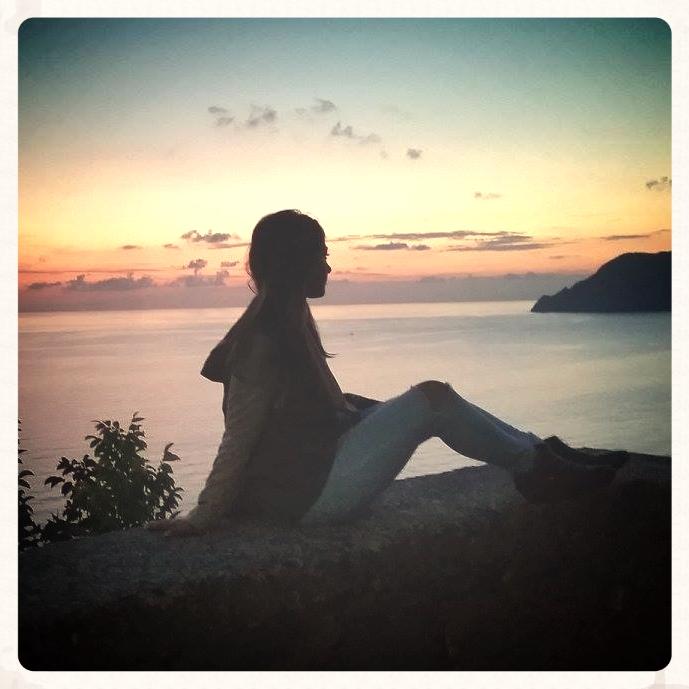 Sunset @Cinque Terre