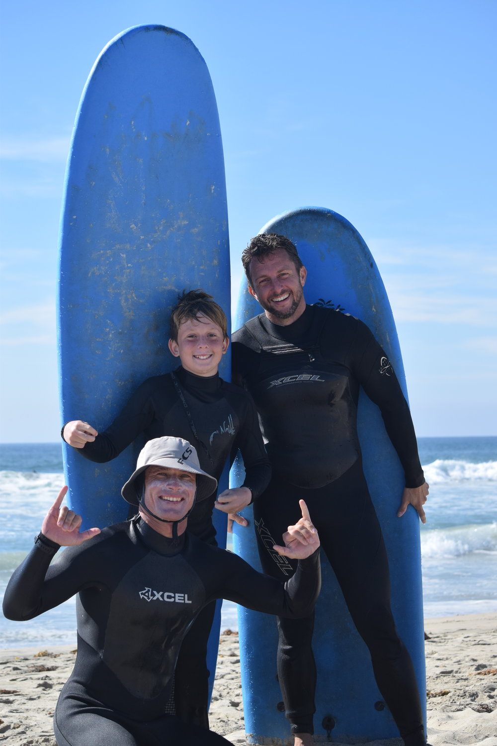 Get Pitted Surfing Lessons= Ultimate Family Fun Event in OC!