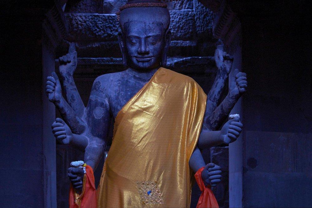 Buddha Draped Statue