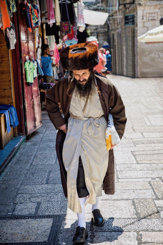 Haredi Man in Jerusalem