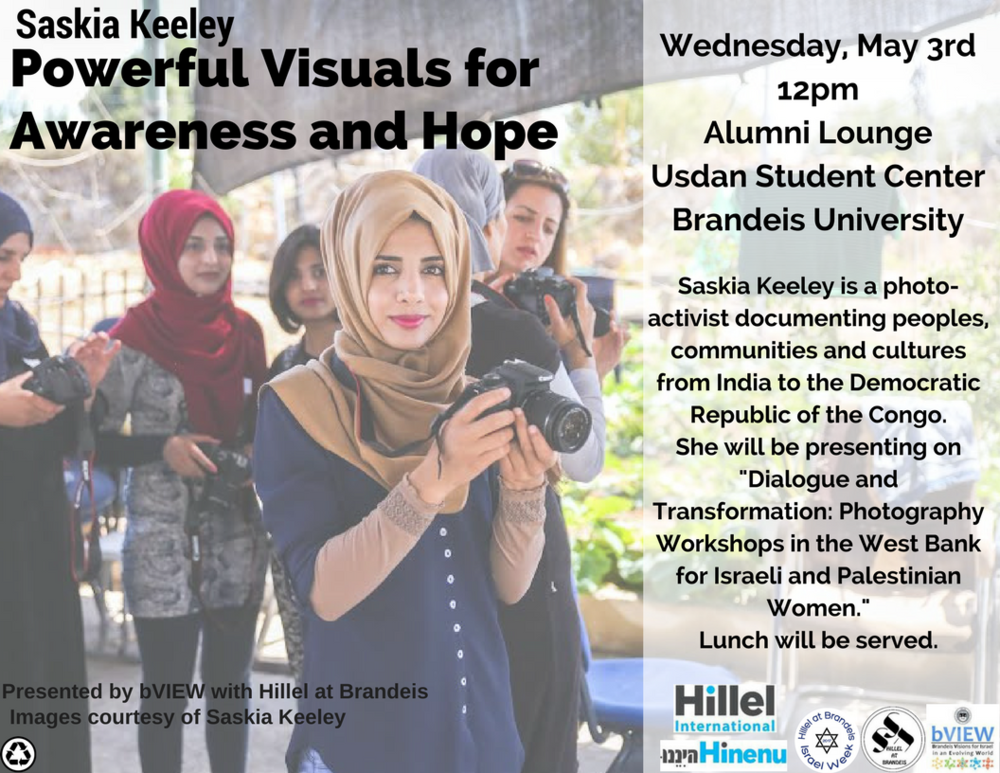 Saskia Keeley: Powerful Visuals for Awareness and Hope - Brandeis University