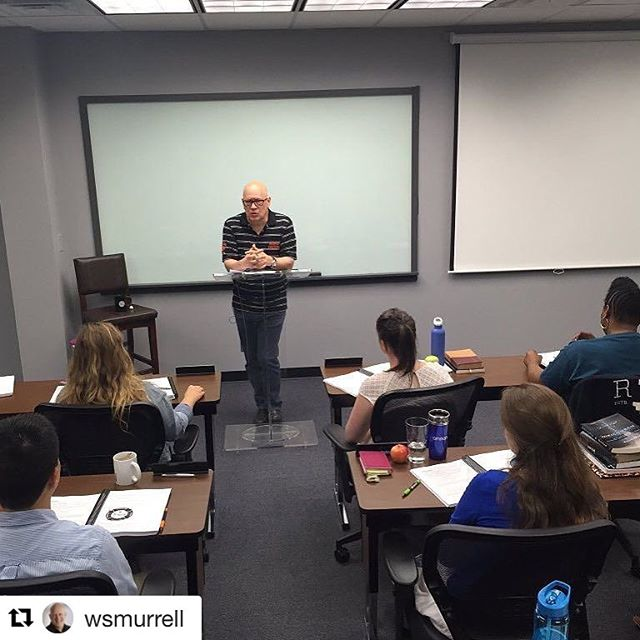 #Repost @wsmurrell with @repostapp ・・・ Honored to teach discipleship to 18 future campus missionaries at @enc_na school today.  #sameoleboringstrokes #WikiChurch #everynationeverycampus #ENCampus