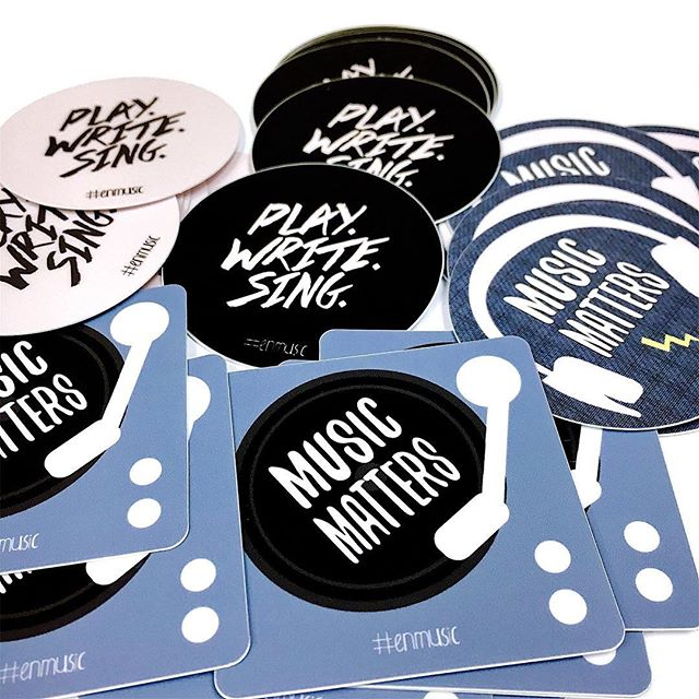 We're kicking off the #enmusic Sticker Contest today! Follow @everynationmusic to stay updated on the contest results. ⚡ Winner announced on March 31st 1) Get a free sticker from the ENC conference merch table 2) Take a cool picture with/of the sticker and post it to Facebook and/or Instagram 3) Use the hashtag: #ENMusic 4) Every Nation Music will randomly pick 2 winners and send each of them a Doxology Hat!