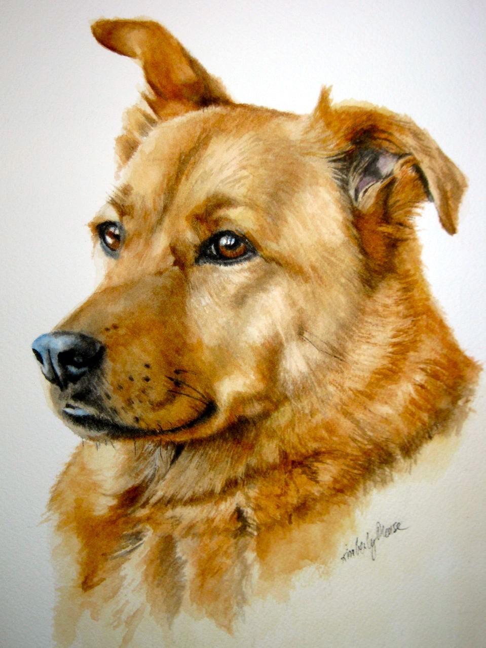 Hazelnut, Patron Saint of the Stratford Animal Rescue