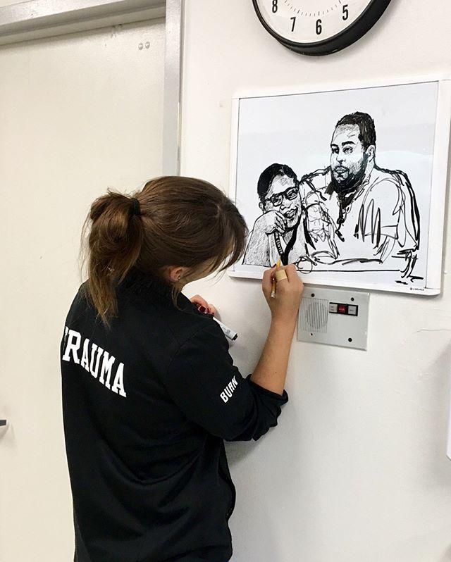 Hard at work 🤓  #whiteboard  #sketch  #miami