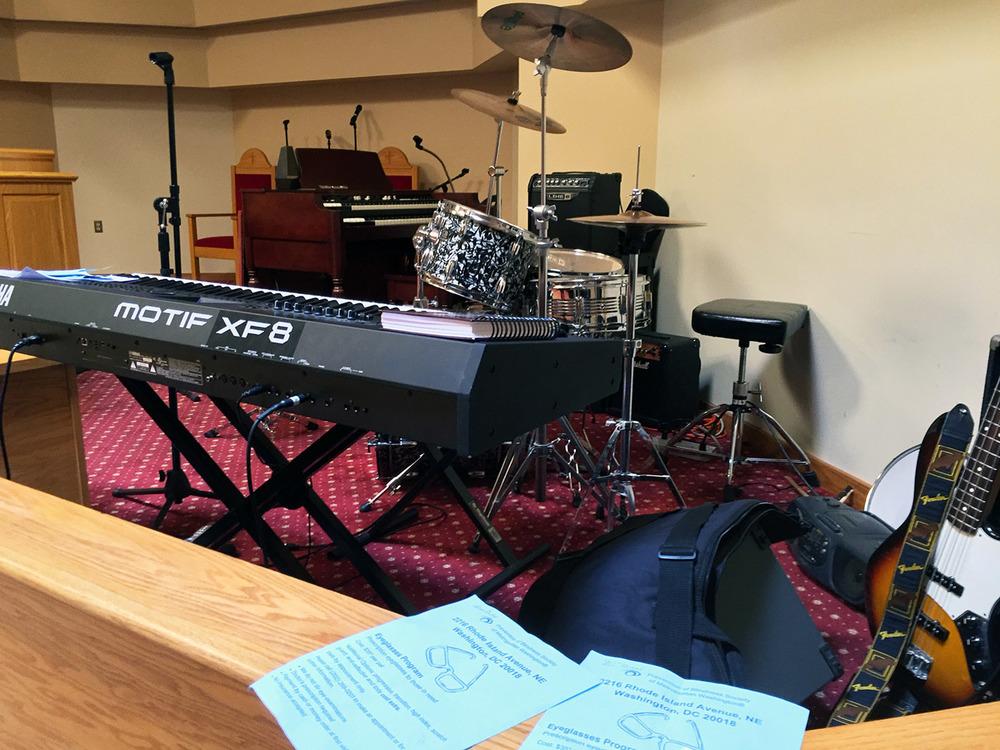 Live Music During Worship