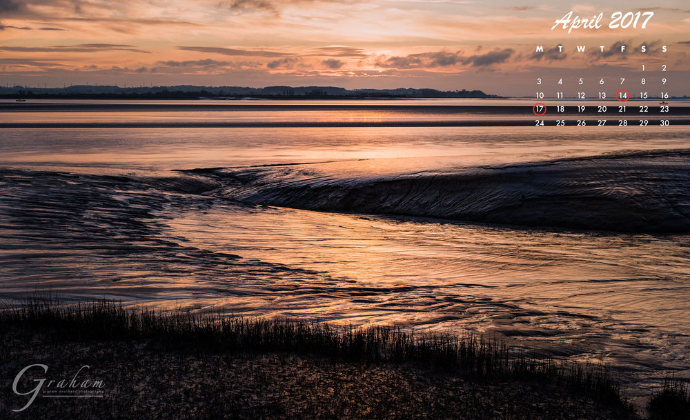 April 2017 - The River Humber viewed from Brough HavenClick the image to open and download