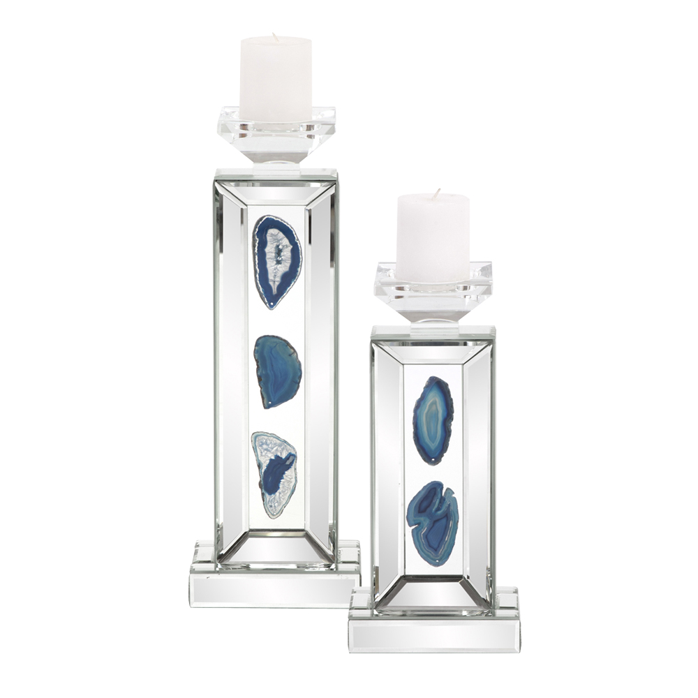 Geode Agate Candle Holders Click Image for Details