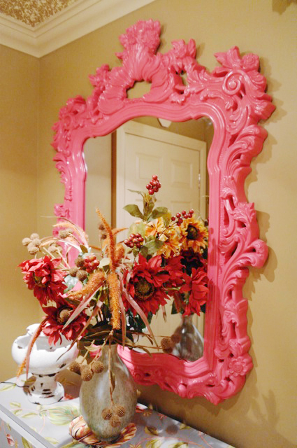 Another great photo from Henry's Purveyor of Fine Things! This one is of our Turner Mirror in Hot Pink and it is definitely HOT! Click the image to see our Turner Mirror in Color!