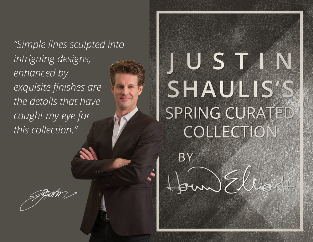 Click to view the  Justin Shaulis Spring Curated Collection 2018 >
