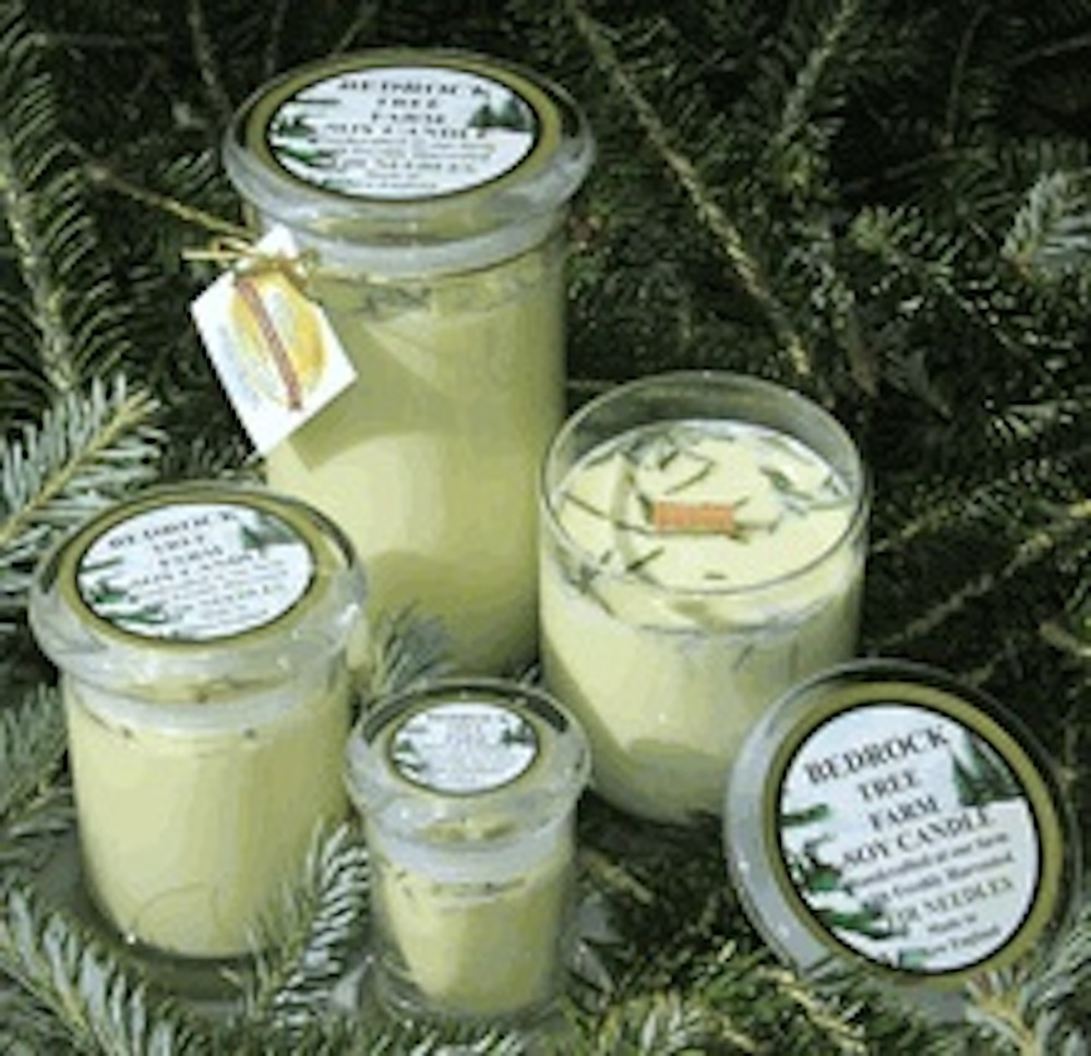 Bedrock Tree Farms Candles