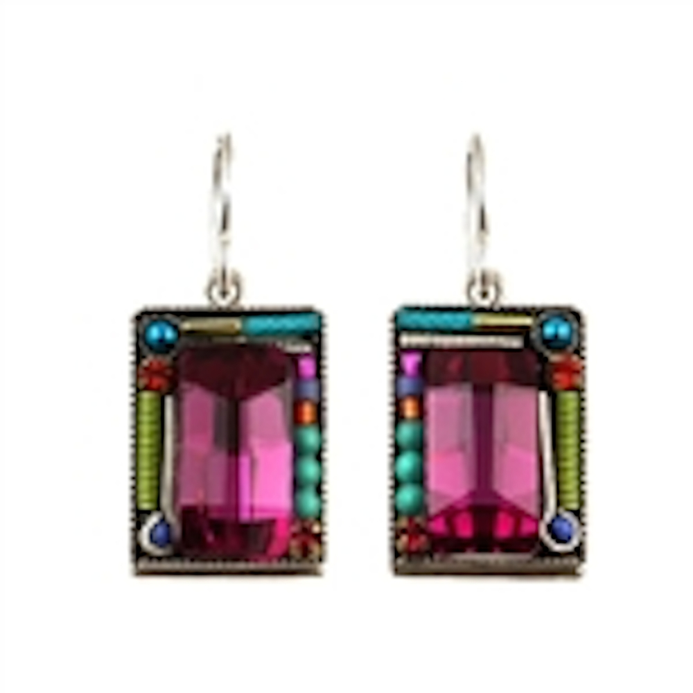 Fuchia Earrings