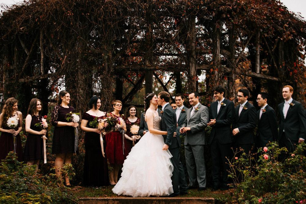 first-kiss-elizabeth-park-gazebo-rose-gerden-wedding-ceremony-boston-new-england-photographer.jpg