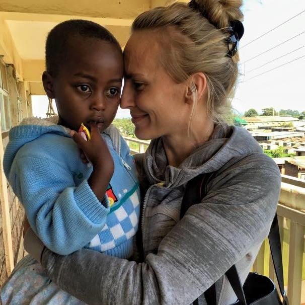 Sanna, in Kenya