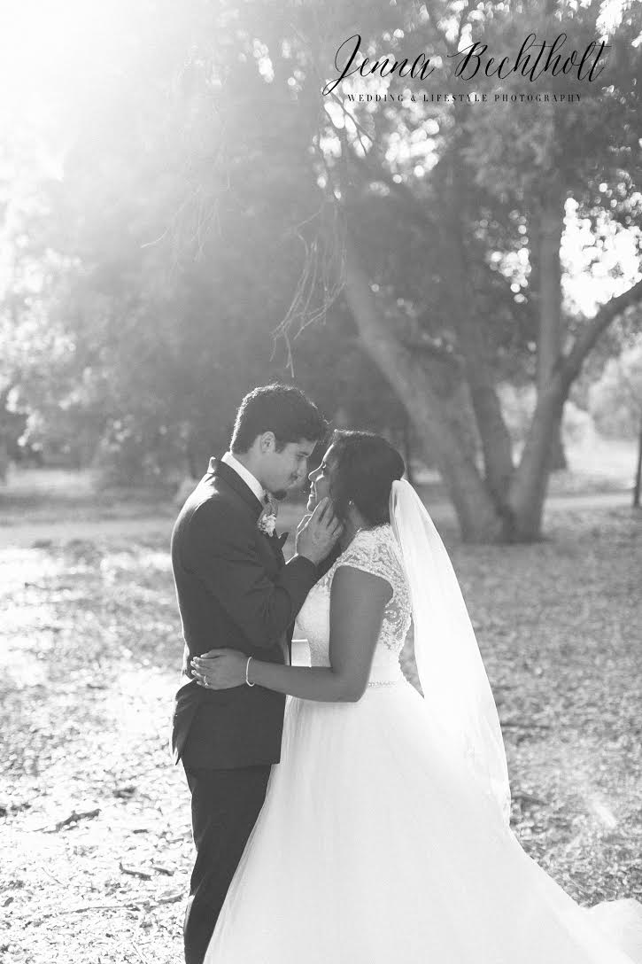 Orcutt Ranch Wedding | A Bride and Groom Portrait | Forever Taeken Weddings