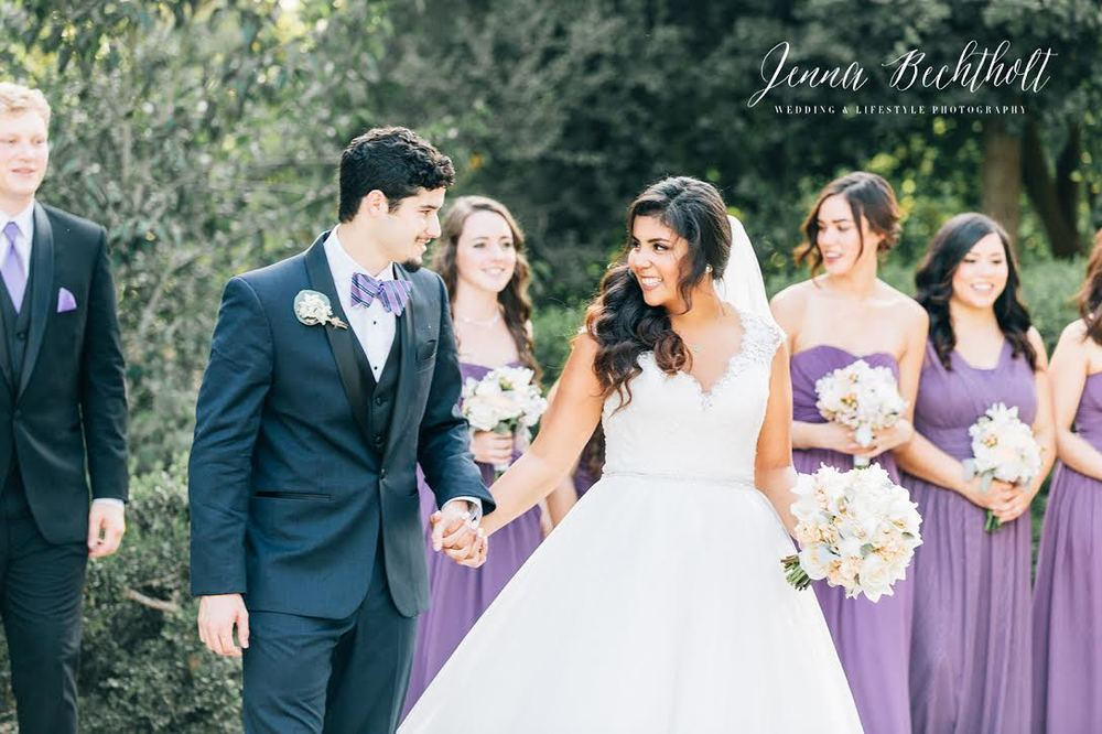 Orcutt Ranch Wedding Bridal Party | Forever Taeken Weddings