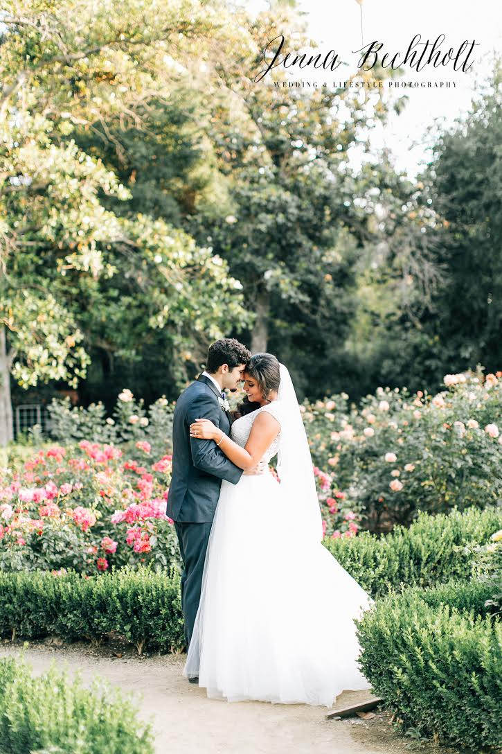 Orcutt Ranch Wedding Bride and Groom Portrait | Forever Taeken Weddings