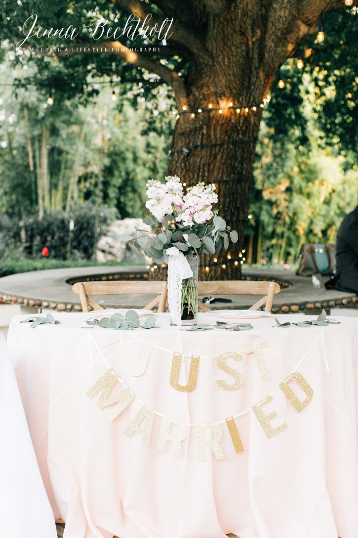 Orcutt Ranch Wedding Sweetheart Table | Forever Taeken Weddings