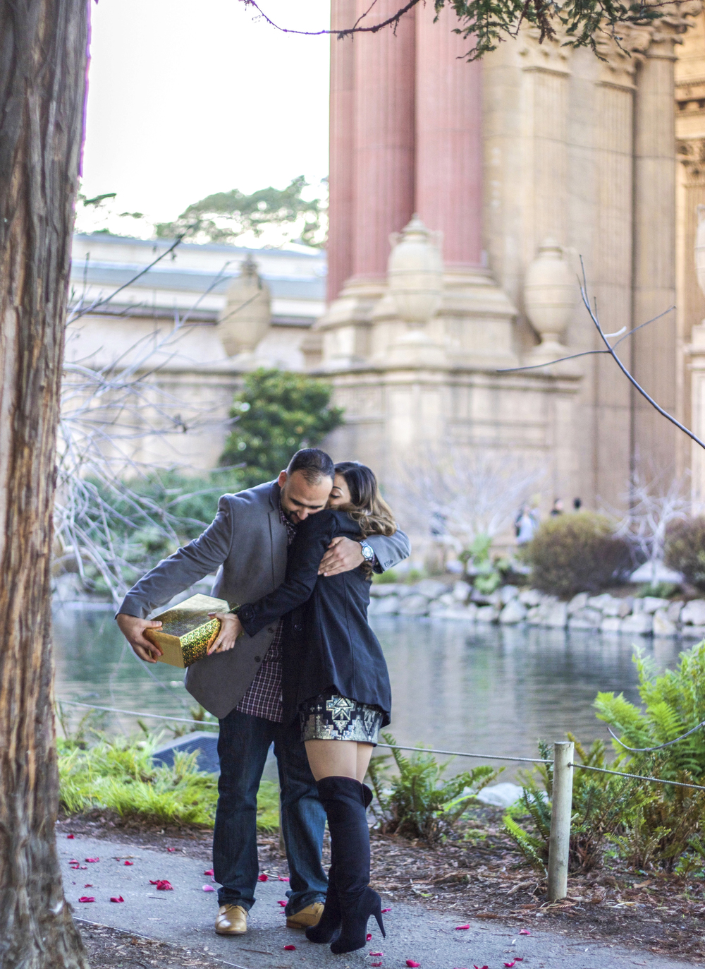 Palace of Fine Art Proposal | Forever Taeken Weddings