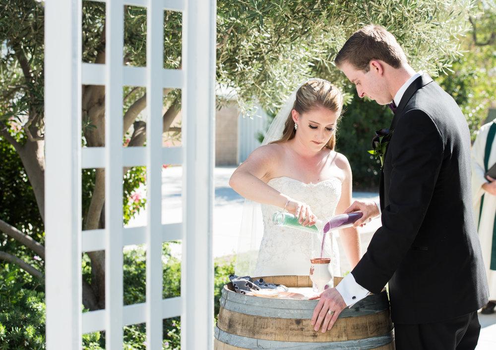 McCoy Equestrian Center Wedding Sand Ceremony | Forever Taeken Weddings