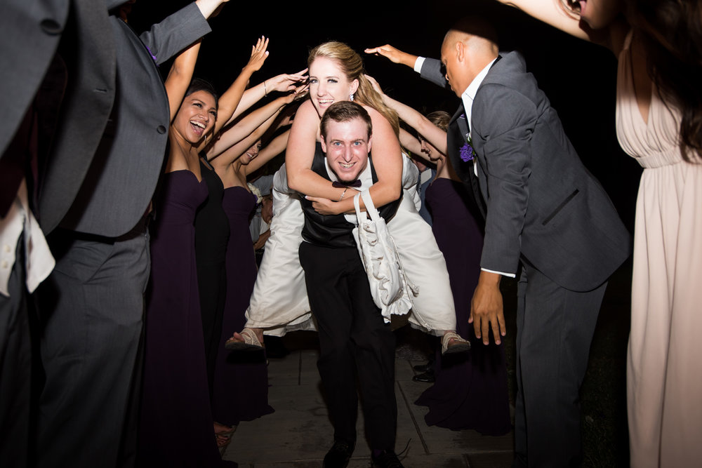 McCoy Equestrian Center Wedding Grand Exit | Forever Taeken Weddings